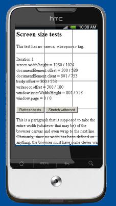 Combining meta viewport and media queries - QuirksBlog
